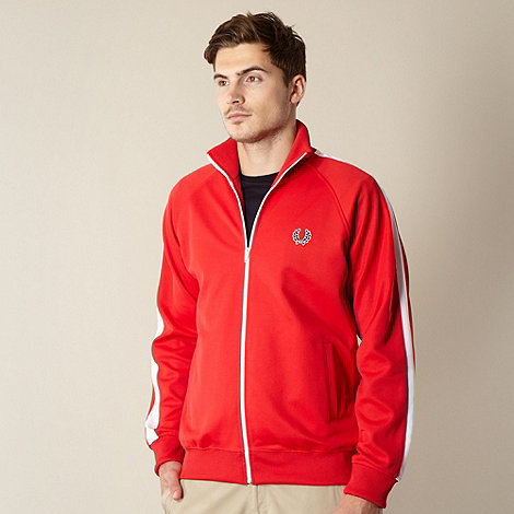 Fred Perry - Red tape sleeve jacket