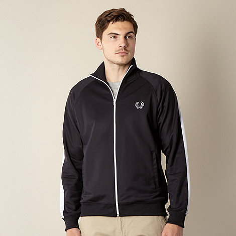 Fred Perry - Black tape sleeve jacket
