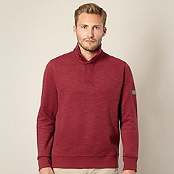 Ben Sherman - Wine funnel neck sweat top