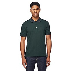 Ben Sherman - Big and tall green arrow print polo shirt