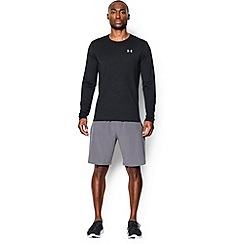 Under Armour - Black 'Threadborne ' streaker long sleeve t-shirt