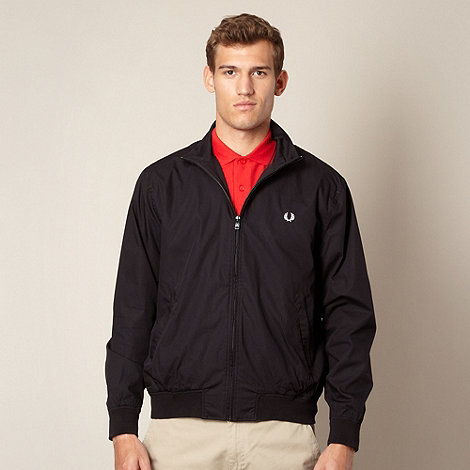 Fred Perry - Black zip through jacket