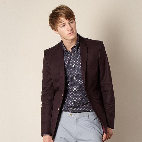 Ben Sherman - Wine twill blazer
