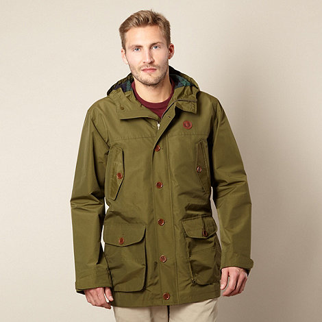 Fred Perry - Dark olive parka jacket