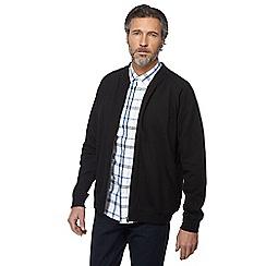 Jacamo - Big and tall big and tall black bomber jacket