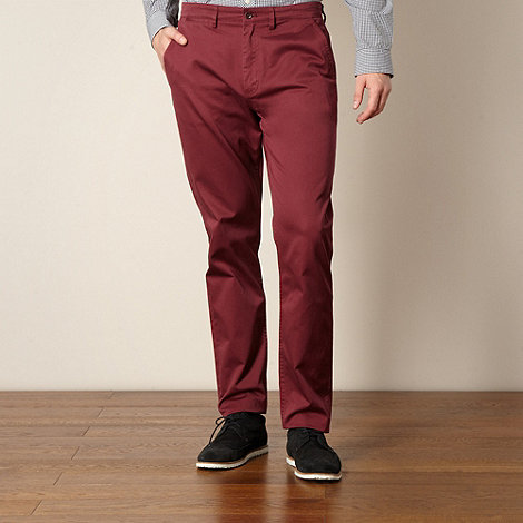 Fred Perry - Wine twill chinos