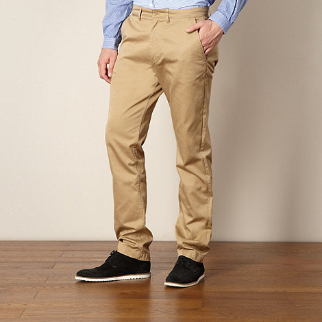 Fred Perry - Natural twill chinos