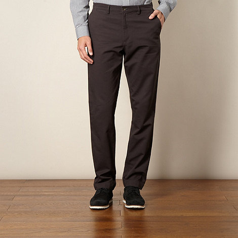 Fred Perry - Dark grey cord chino trousers