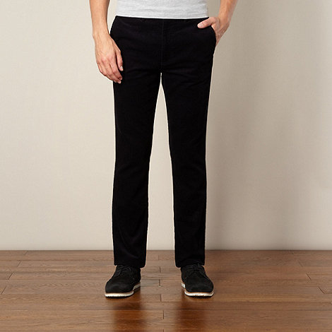 Fred Perry - Black corduroy trousers