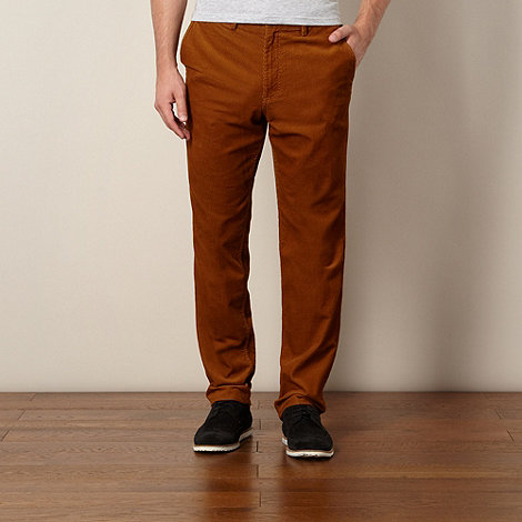 Fred Perry - Tan cord trousers
