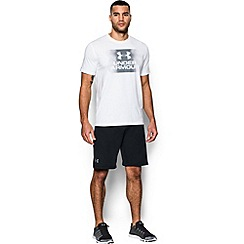 Under Armour - Black terry 'Tech ' sports shorts