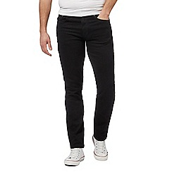 Ben Sherman - Big and tall black straight leg jeans