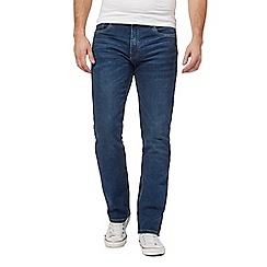 Ben Sherman - Blue straight fit jeans