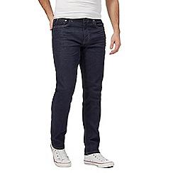Ben Sherman - Navy raw wash slim leg jeans