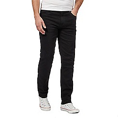 Ben Sherman - Big and tall black slim fit jeans