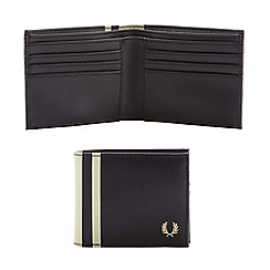 Fred Perry - Black striped wallet