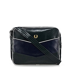 Fred Perry - Green and navy shoulder bag