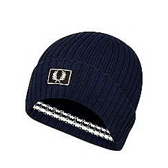Fred Perry - Navy tipped beanie