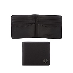 Fred Perry - Black textured wallet