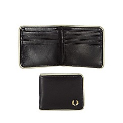 Fred Perry - Black contrasting trim wallet