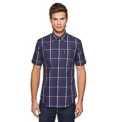 Ben Sherman - Big and tall multi-coloured gingham checked shirt