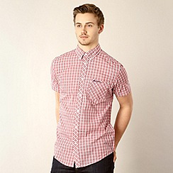 Ben Sherman - Red checked button down shirt