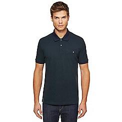 Ben Sherman - Big and tall dark green oxford polo shirt
