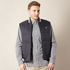 Fred Perry - Navy tipped trim gilet