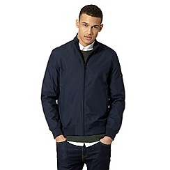 Ben Sherman - Navy funnel neck bomber jacket