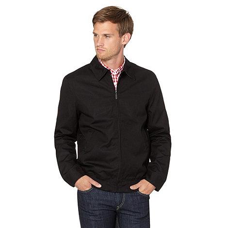 Ben Sherman Black harrington jacket | Debenhams