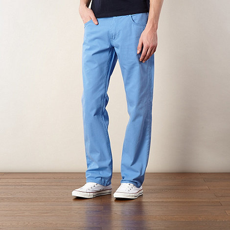 Ben Sherman - Light blue twill trousers