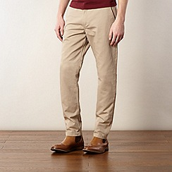 Fred Perry - Beige fine cord trousers