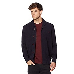 Fred Perry - Navy shawl neck sweater cardigan
