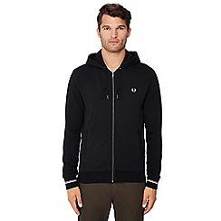 Ben Sherman - Big and tall black wool blend jacket