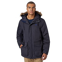 Fred Perry - Navy down filled parka jacket