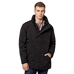 Schott - Black 3-in-1 parka coat