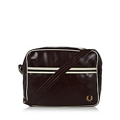 Fred Perry - Maroon classic shoulder bag
