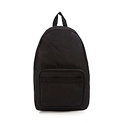Fred Perry - Black classic barrel bag