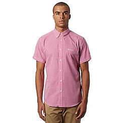 Ben Sherman - Pink gingham checked shirt