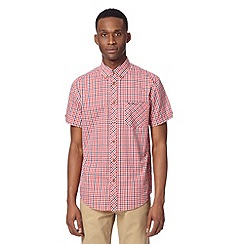 Ben Sherman - Big and tall red gingham checked shirt