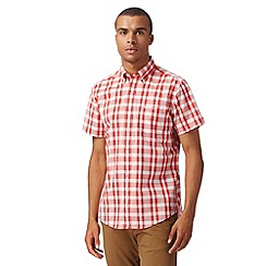 Ben Sherman - Big and tall red picnic checked shirt