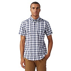 Ben Sherman - Navy picnic checked shirt