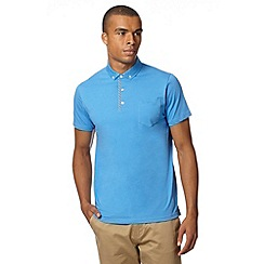 Ben Sherman - Light blue jersey polo shirt