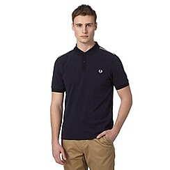 Fred Perry - Big and tall navy slim fit polo shirt