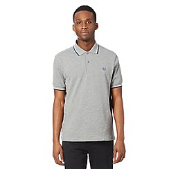Fred Perry - Dark grey regular fit polo shirt