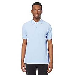 Fred Perry - Light blue regular fit polo shirt