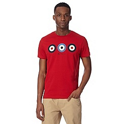 Ben Sherman - Big and tall red target t-shirt