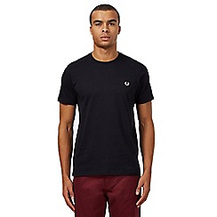 Fred Perry - Black crew neck regular fit t-shirt