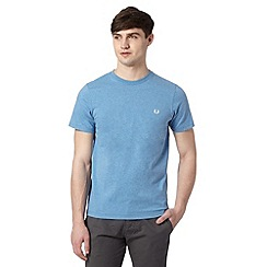 Fred Perry - Blue crew neck regular fit t-shirt