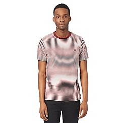 Fred Perry - Wine sharp stripe t-shirt